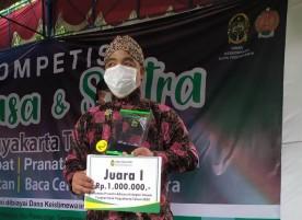 Bapak Tri Handoko Putro Pemenang Lomba Prananta Adicara 2020