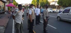 Pemantauan Prokes Pasar Sore Ramadhan